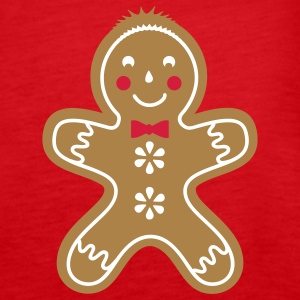 yummy funny gingerbread man Tops - Women's Premium Tank Top