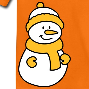 Schneemann Kinder T-Shirts - Teenager Premium T-Shirt