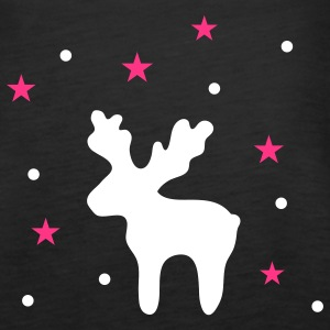 Reindeer and stars Tops - Women's Premium Tank Top