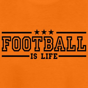 football is life deluxe Barneskjorter - Premium T-skjorte for tenåringer