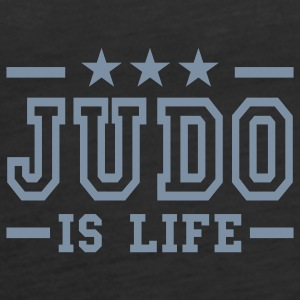 judo is life deluxe Tops - Vrouwen Premium tank top