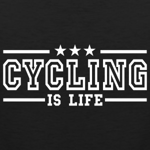 cycling is life deluxe T-shirts - Débardeur Premium Homme