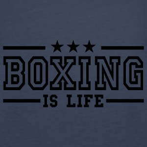 boxing is life deluxe Top - Canotta premium da donna