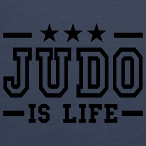 judo is life deluxe Top - Canotta premium da donna