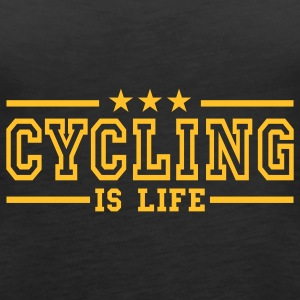 cycling is life deluxe Top - Canotta premium da donna