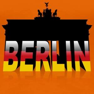 Brandenburger Tor in Berlin (Germany) - Frauen Premium T-Shirt