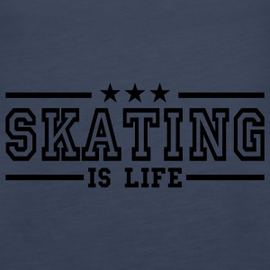 skating is life deluxe Top - Canotta premium da donna