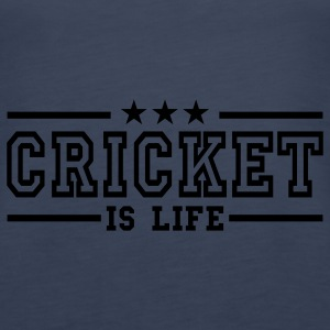 cricket is life deluxe Top - Canotta premium da donna