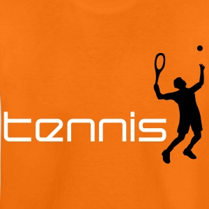 tennis_h_2c T-shirts - Teenager premium T-shirt