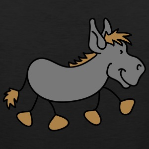 Small nice donkey T-Shirts - Men's Premium Tank Top
