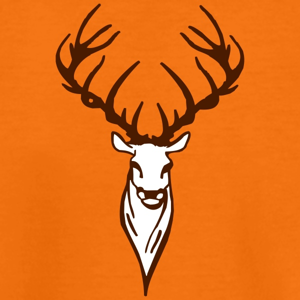 Orange stag Kids' Shirts - Teenage Premium T-Shirt
