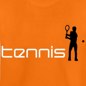 tennis_i_2c T-shirts - Teenager premium T-shirt