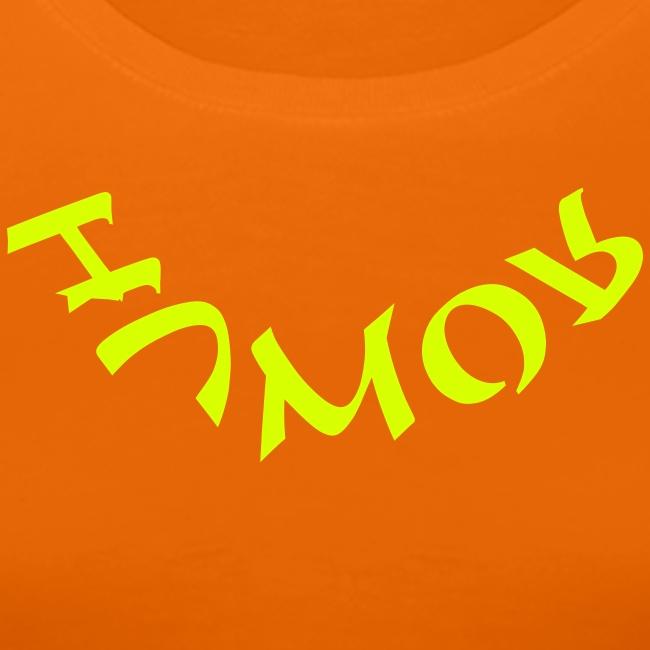 HUMOR in neon