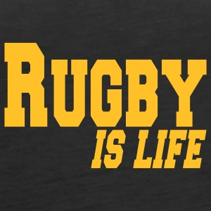 rugby is life Tops - Vrouwen Premium tank top