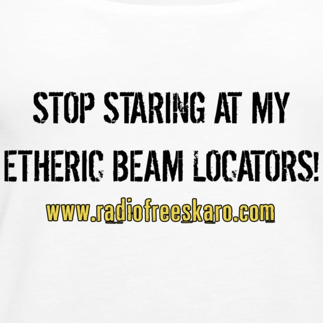 Etheric Beam Locators (Tank Top)