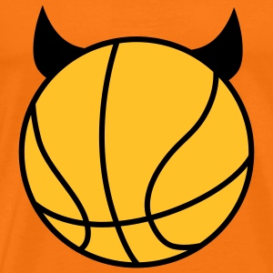 Basketball Devil T-shirts - Herre premium T-shirt