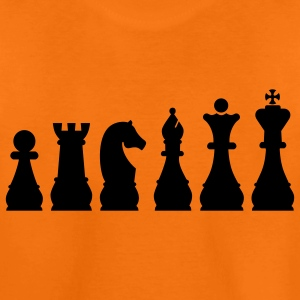 Evolution Chess Barn-T-shirts - Premium-T-shirt tonåring
