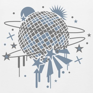 Disco Ball T-Shirts - Men's Premium Tank Top