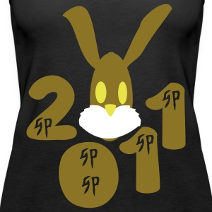 Year of the rabbit Kung Hei Fat Choi  - Women's Premium Tank Top