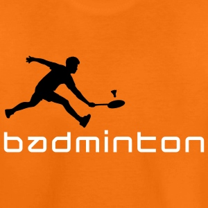 badminton_022011_v_2c T-shirts - Teenager premium T-shirt