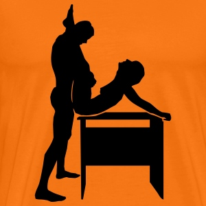 sex position T-Shirts - Men's Premium T-Shirt
