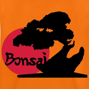 Bonsai subject in Japan, plants and martial arts fans. Kids' Shirts - Teenage Premium T-Shirt