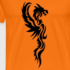 tribal dragon T-Shirts - Männer Premium T-Shirt