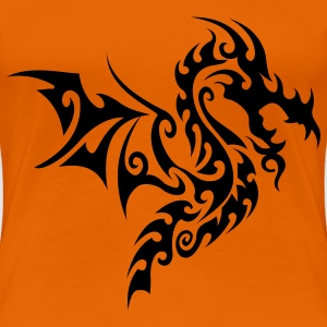 tribal dragon T-shirts - Vrouwen Premium T-shirt