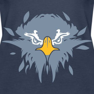 the head of an eagle Tops - Women's Premium Tank Top