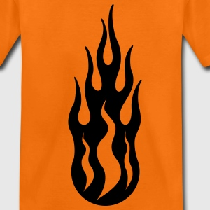 tribal flame Kids' Shirts - Teenage Premium T-Shirt