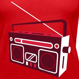 radio cassette recorder Tops - Women's Premium Tank Top