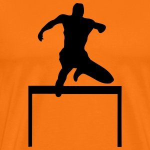 hurdle-race sport T-Shirts - Men's Premium T-Shirt