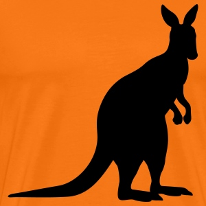 kangaroo animal T-Shirts - Men's Premium T-Shirt