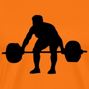 weightlifter sport T-Shirts - Men's Premium T-Shirt