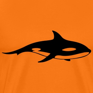 killer whale animal T-shirts - T-shirt Premium Homme