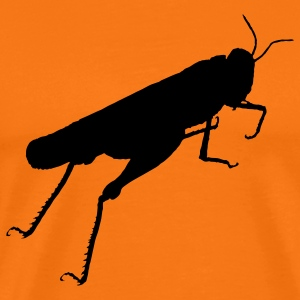 grasshopper animal T-Shirts - Men's Premium T-Shirt
