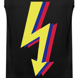 High Voltage, Blitze! T-Shirts - Männer Premium Tank Top