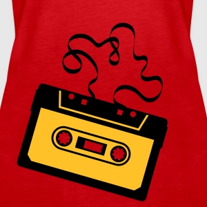 Kassette Bandsalat Audio Tape Tonband Musik Sound Walkman Tops - Frauen Premium Tank Top