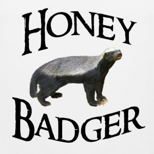 Honey Badger T-Shirts - Men's Premium Tank Top