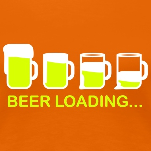 beer_loading_2c T-Shirts - Women's Premium T-Shirt