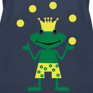 Frog King juggles Tops - Women's Premium Tank Top