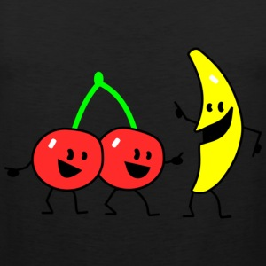 fruit salad two T-Shirts - Men's Premium Tank Top