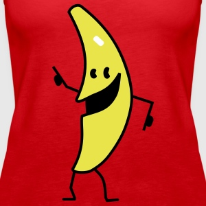banana Tops - Women's Premium Tank Top