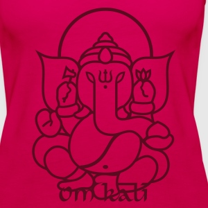 Ganesha Elefant (elephant) No.03 Tops - Frauen Premium Tank Top