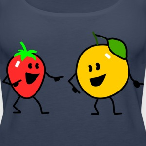 fruit salad one Tops - Women's Premium Tank Top