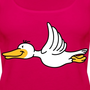 Flying Duck Tops - Frauen Premium Tank Top