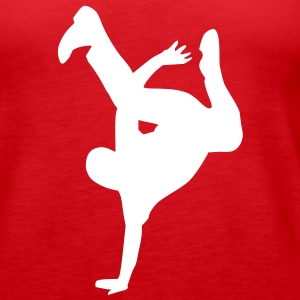 Breakdance Tops - Frauen Premium Tank Top
