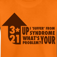 Design ~ KidsT-shirt 3*21 Up Syndrome Orange