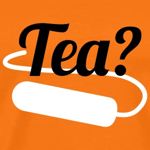 Tea | Tampon T-Shirts - Men's Premium T-Shirt