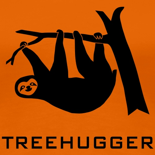 sloth treehugger tree hugging hugger forest nature